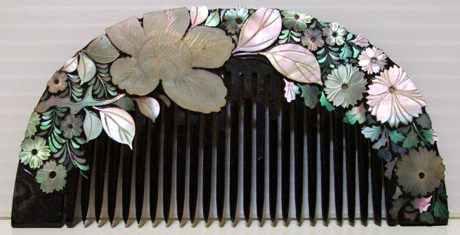Японский гребень для волос, фото