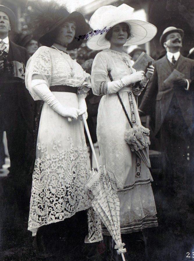 Платья начала 20го века, фото