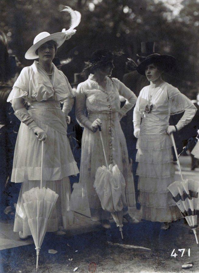 Французская мода начала 20 века, фото
