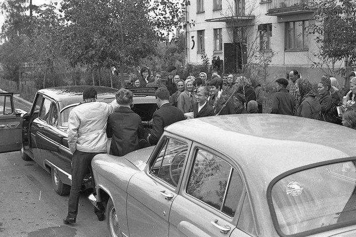 Свадьба в СССР – фото