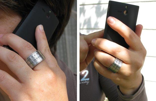 часы – кольцо, фото
