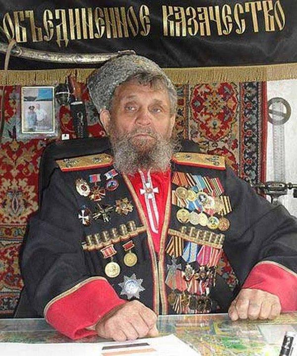 Современный казак, фото