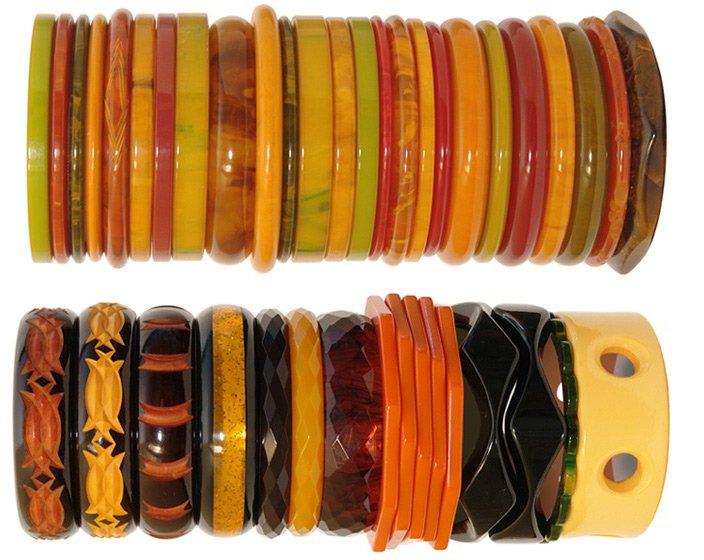 Бакелитовые браслеты – украшения из бакелита, фото