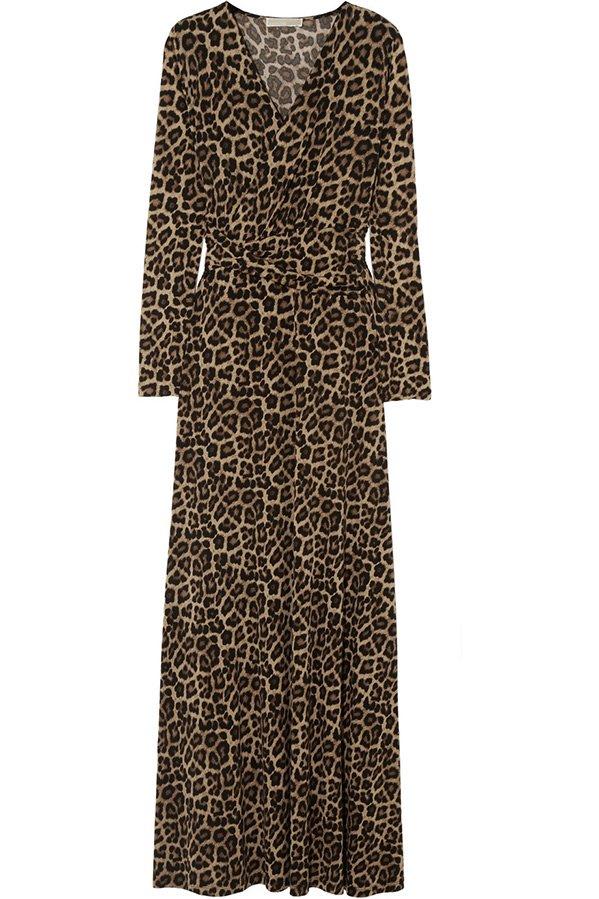 Леопардовое платье от Michael Kors