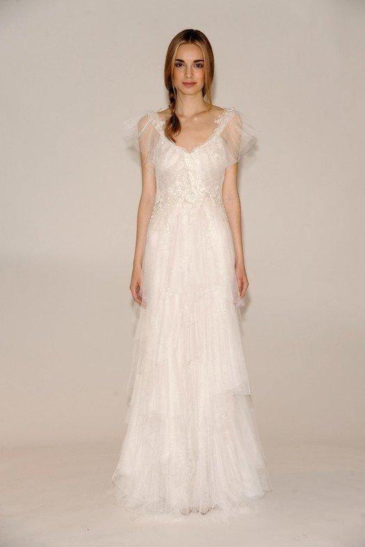 Белое свадебное платье 2014-2015