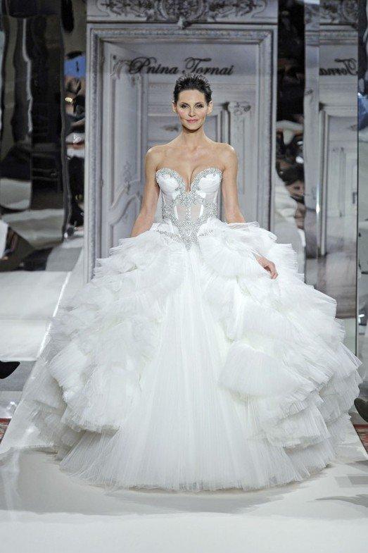 Пышное свадебное платье, фото