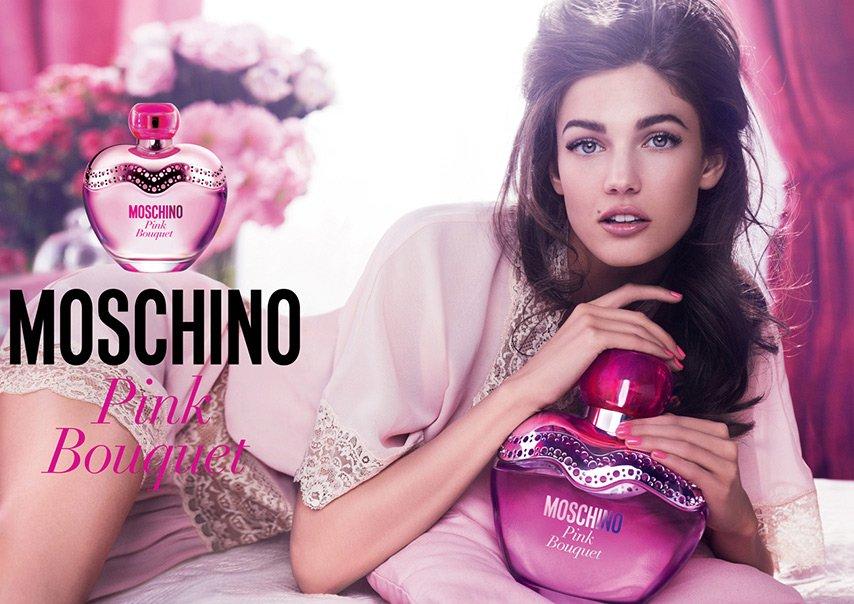 Реклама парфюмерии бренда Москино