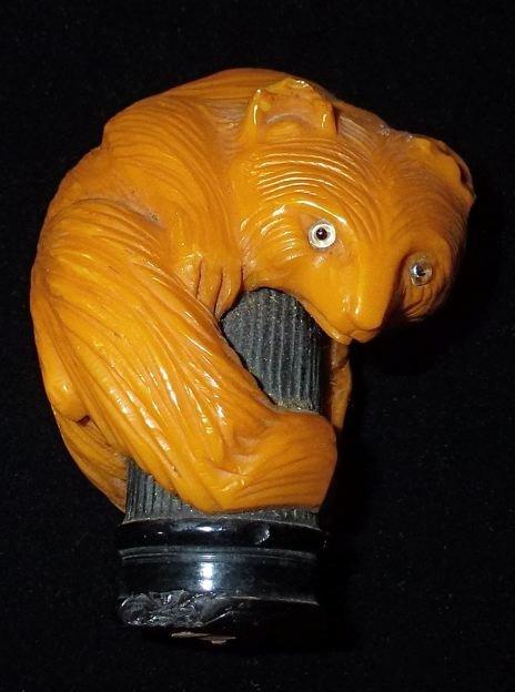 Винтажная ручка для зонтика, фото
