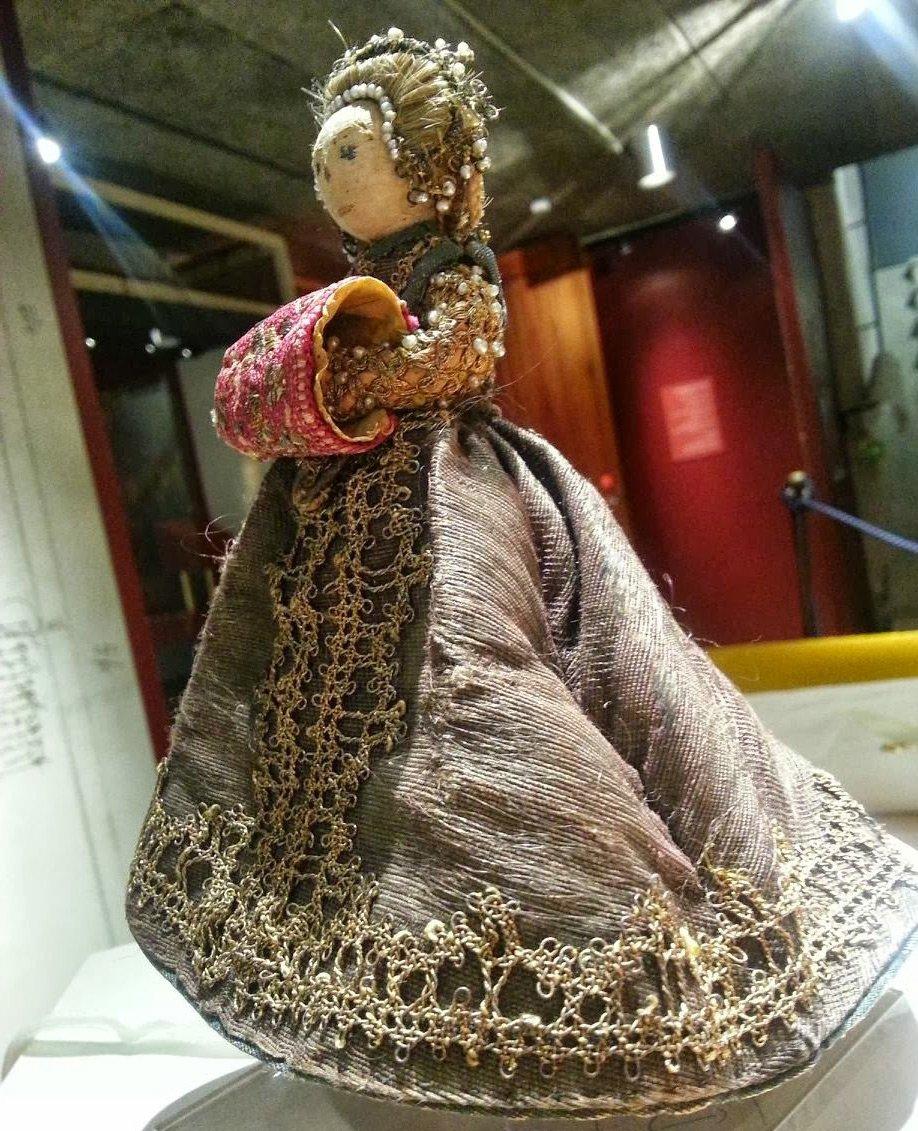 Антикварная Кукла Пандора
