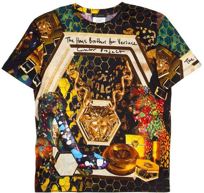 Майка - футболка Versace, фото