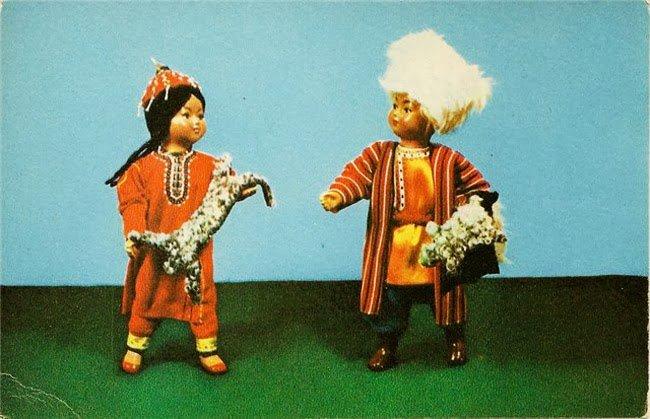 Куклы Туркмения