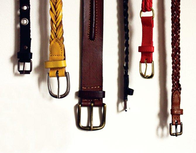 Как правильно носить ремни и завязывать пояса