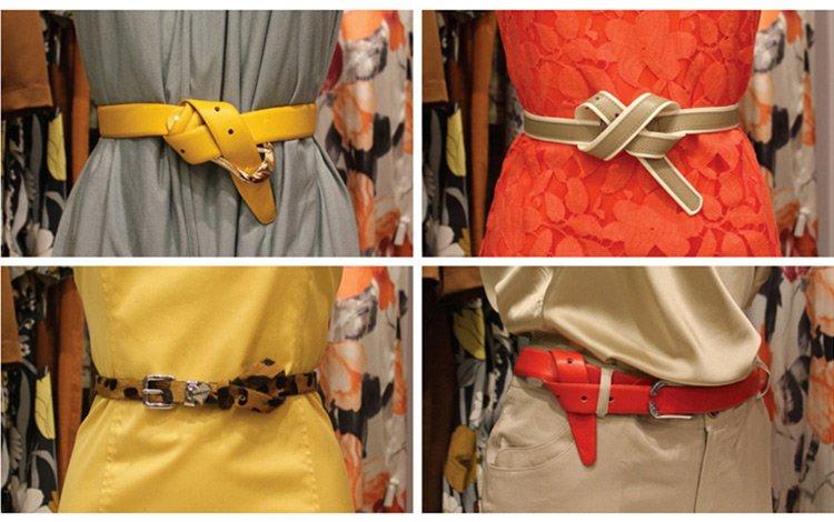 Как носить рении и пояса, фото