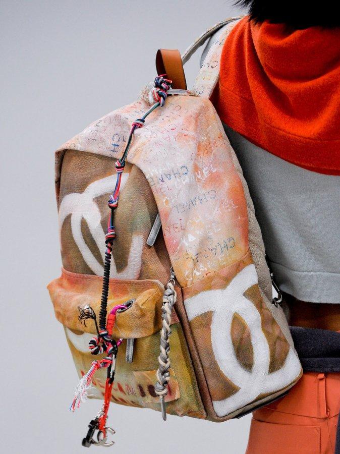 Рюкзак Chanel весна-лето 2014, фото