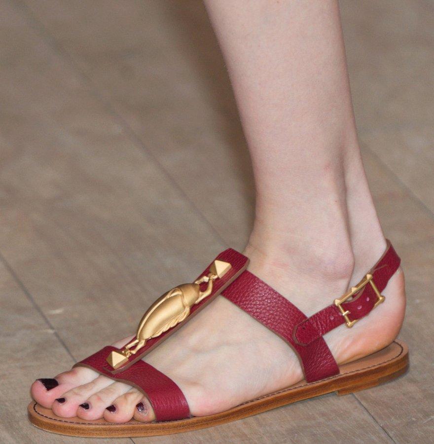 Обувь от Valentino, фото