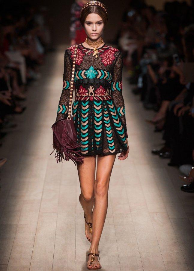 Модное платье весна-лето 2014, фото