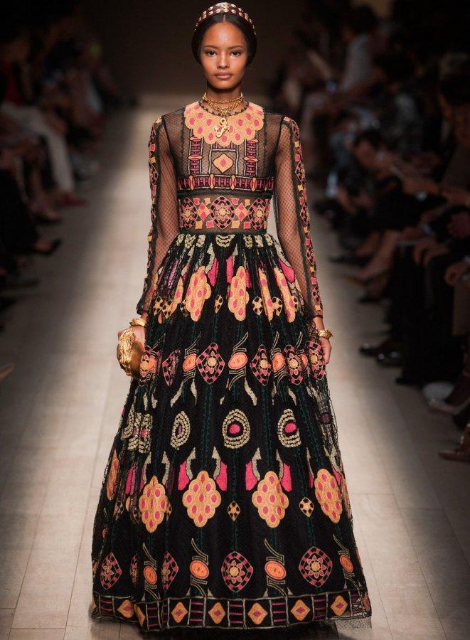 Платья Valentino весна-лето 2014, фото