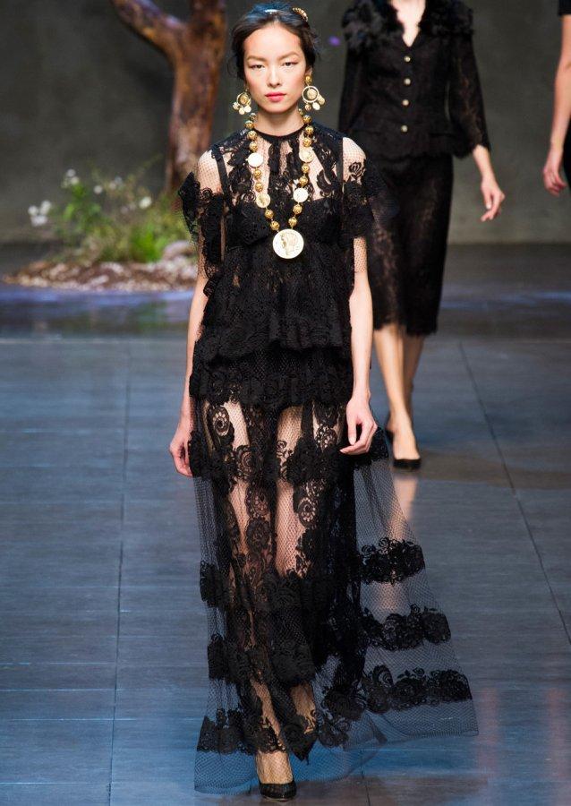 Черное Платье Dolce & Gabbana, фото
