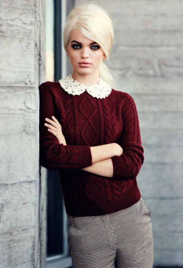Топ-модель Дафна Гроенвельд, фото
