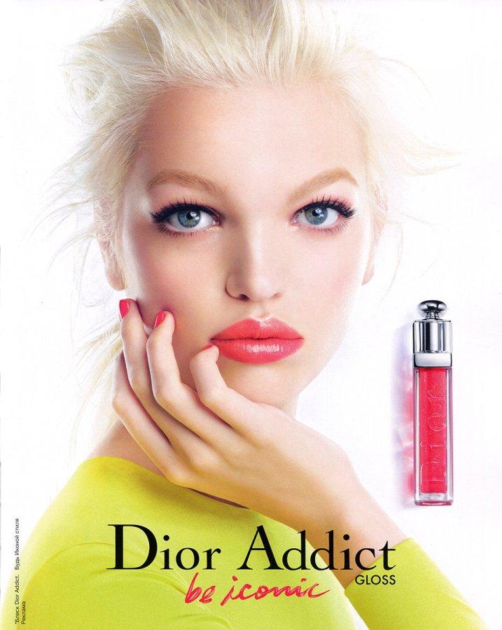 Дафна Гроенвельд реклама аромата Диор