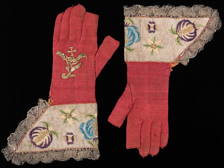 Антикварные перчатки, фото