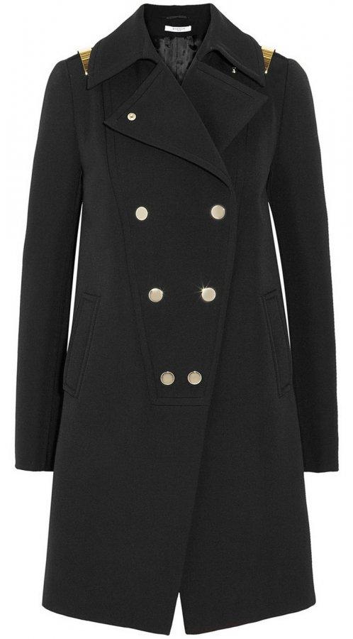 Женское пальто-шинель, фото