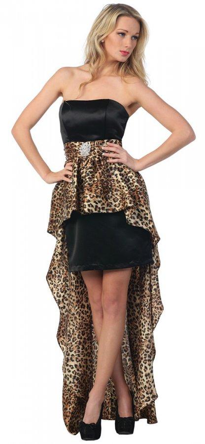Леопардовое платье, фото