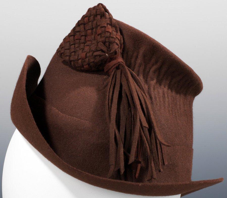 Женская фетровая шляпка, фото