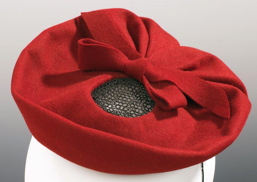 Валяная шляпа из фетра, фото