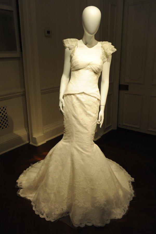 Свадебное платье Zac Posen, фото