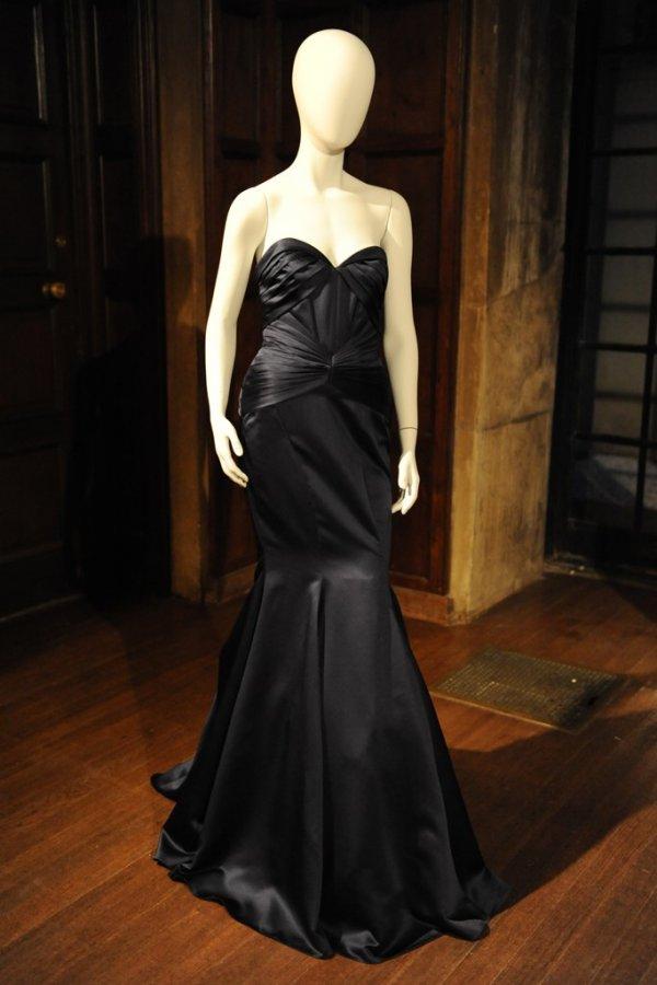 Черное платье Zac Posen, фото