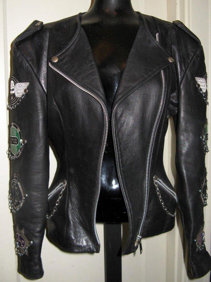 Кожаная куртка John Richmond, фото