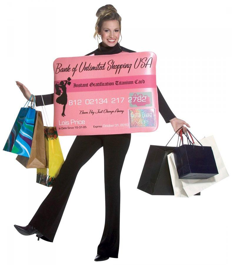 Шоппинг и кредитные карты, фото