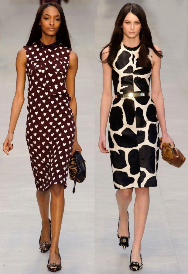 Самые лучшие платья Burberry фото