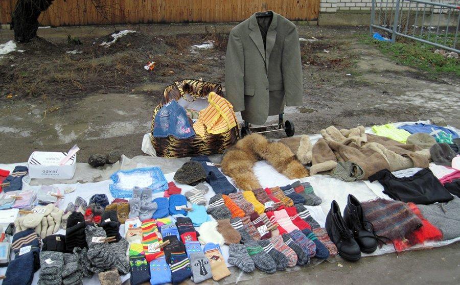 Блошиные рынки в России, фото