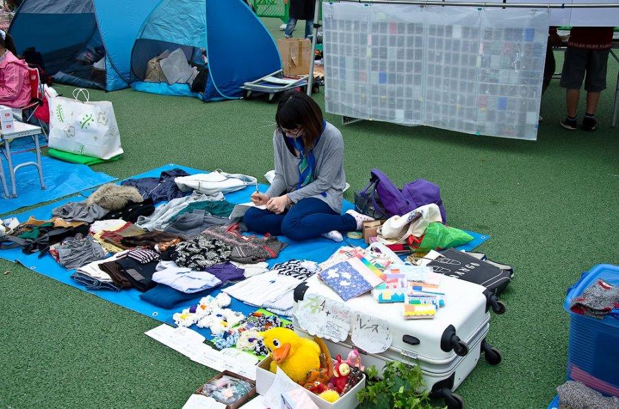 Блошиные рынки Японии