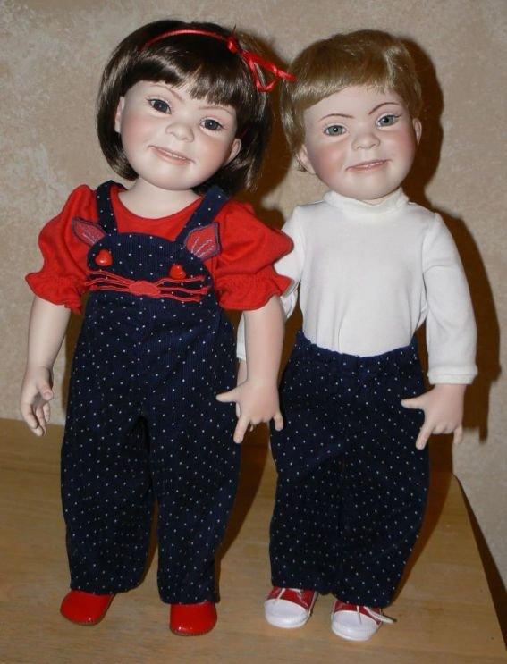 куклы для детей, страдающих синдромом Дауна, фото