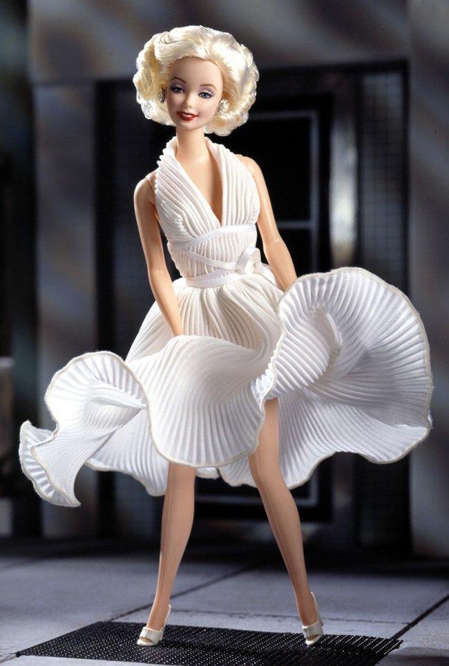 Платье белое мерлин монро