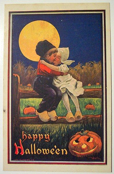 Хеллоуин открытка