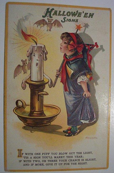 Девочка – винтажная открытка