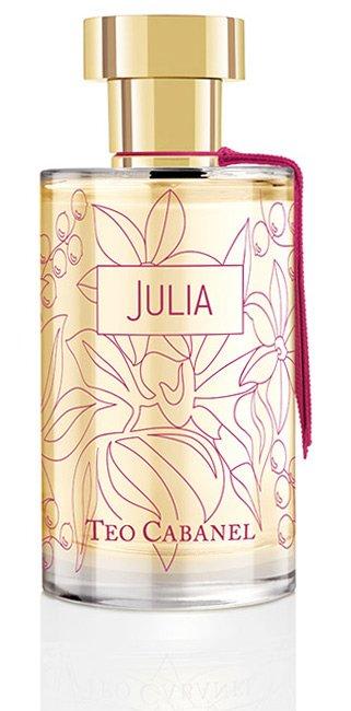 Парфюмерия с ароматом малины Julia Teo Cabanel