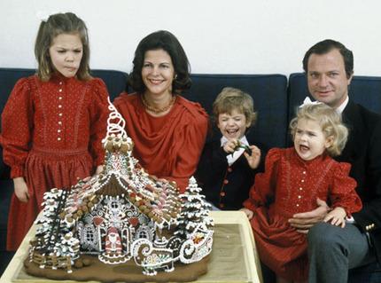 Королевская семья Швеции, фото