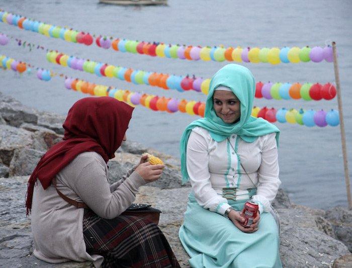 Стиль одежды турчанок