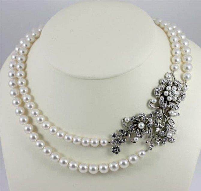 Красивое ожерелье, фото украшения