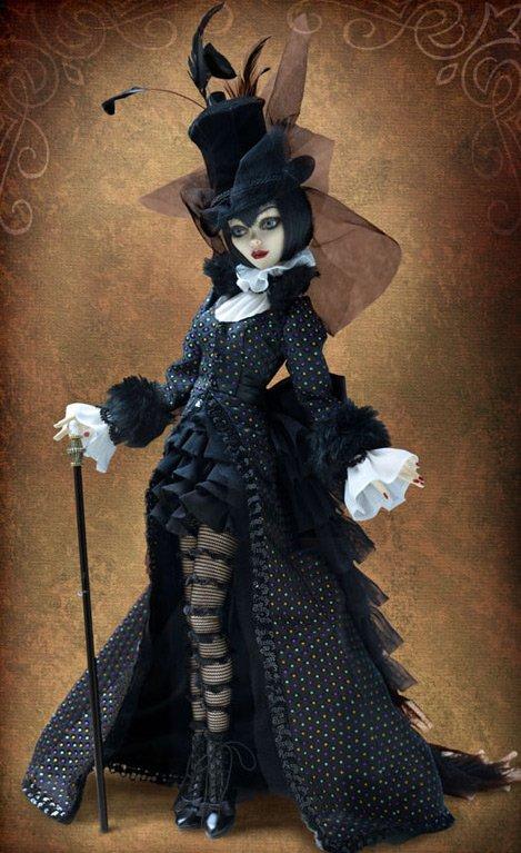 Красивые готические куклы