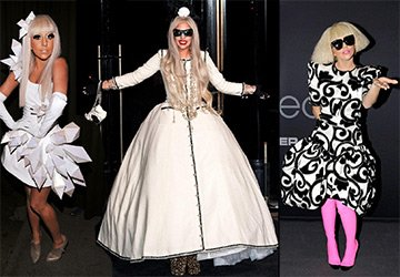 Лучшие платья Леди Гага