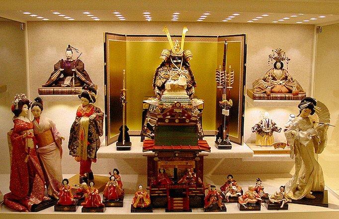 Самые красивые японские интерьерные куклы