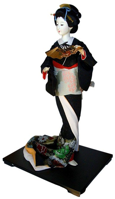 Самые красивые японские куклы - девушки