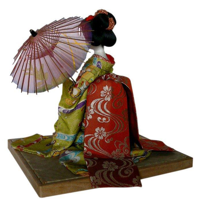 Японская кукла, фото