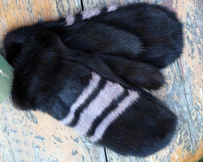 меховые рукавицы